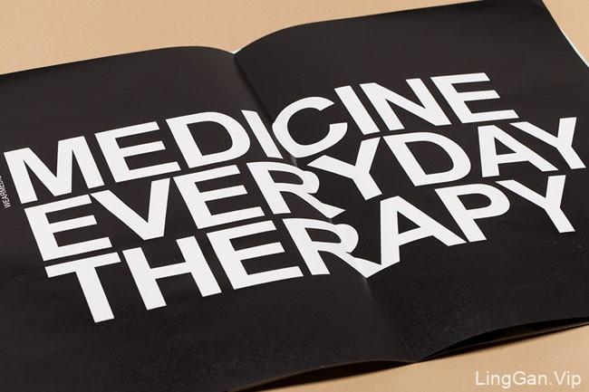 国外Medicine品牌画册时尚版面设计欣赏