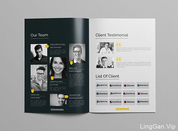 国外CRISTAL Pioneer企业画册模版设计分享(三)
