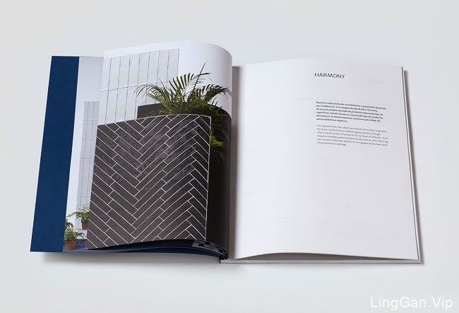 国外Harmony陶瓷品牌简约画册设计