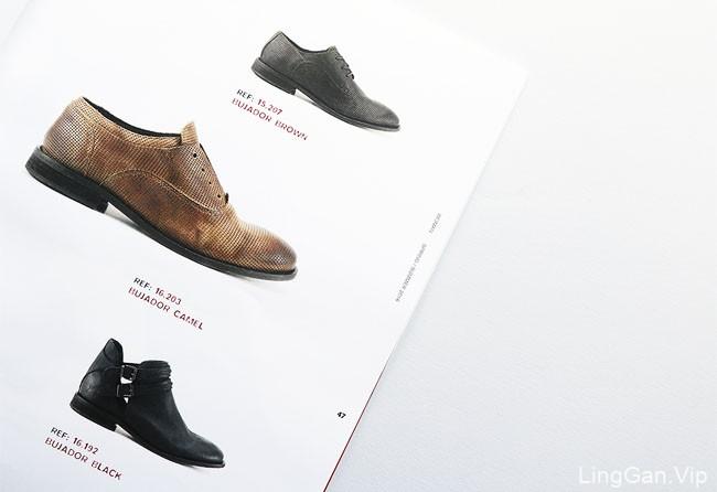 国外Brusque高端手工鞋品牌2016春夏季目录画册设计