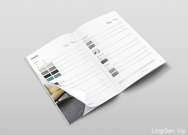 国外GUAL家具品牌画册设计