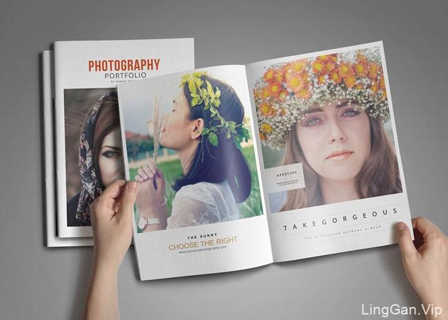 国外PHOTOGRAPHY摄影杂志模版设计