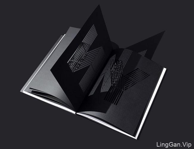 国外《Devinyl》镂空类创意书籍设计