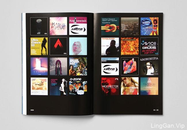 国外Ultra Music二十周年出版物设计