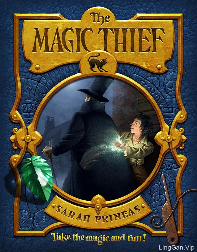 《The Magic Thief》书籍系列封面设计
