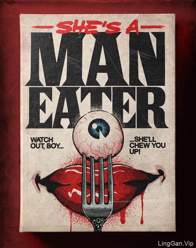 巴西Butcher Billy惊辣悬疑类小说书籍封面设计