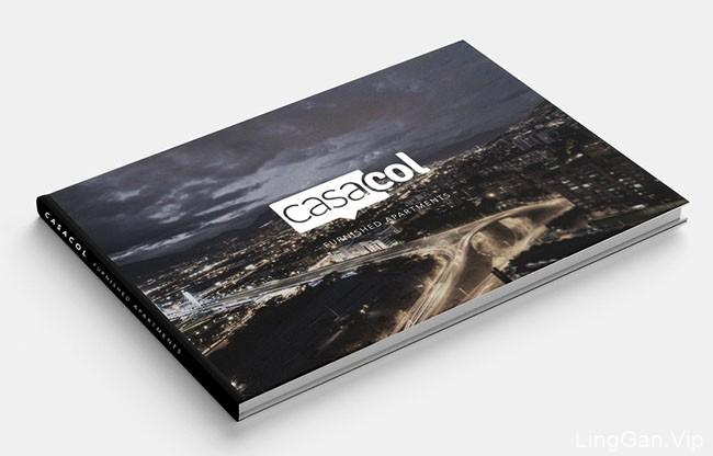 国外Casacol横版画册设计