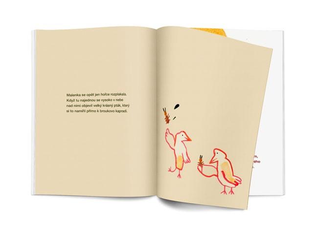 捷克LENA POKALEVA《拇指姑娘》童话书籍设计