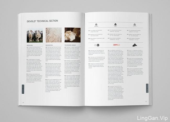 挪威Devold户外品牌目录画册设计