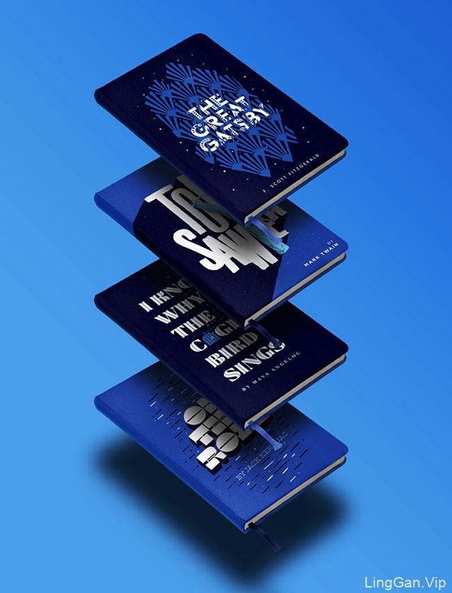 设计师Jose Berrio的美国经典书籍封面设计