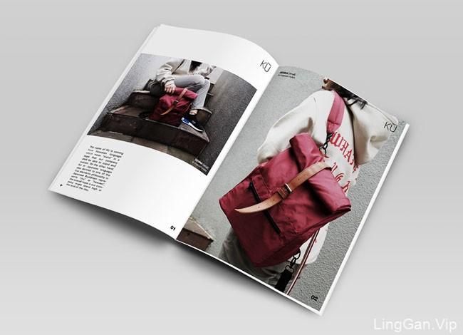 国外KU包包品牌2017画册设计分享