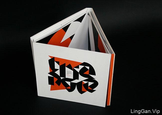 国外Triangle字样创意简洁书籍设计