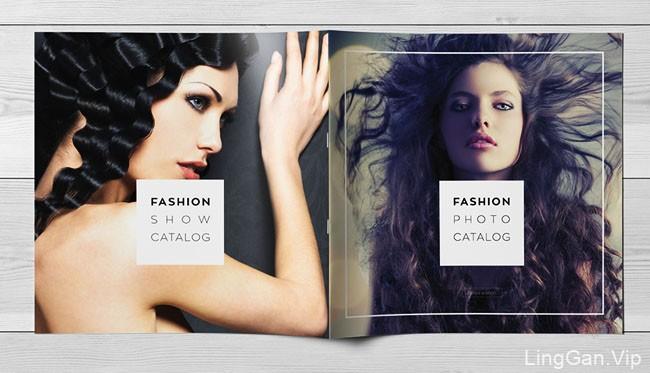 波兰设计师Kahuna Design时尚画册模版设计