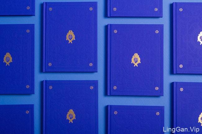 国外PONYO PORCO蓝色系画册设计欣赏
