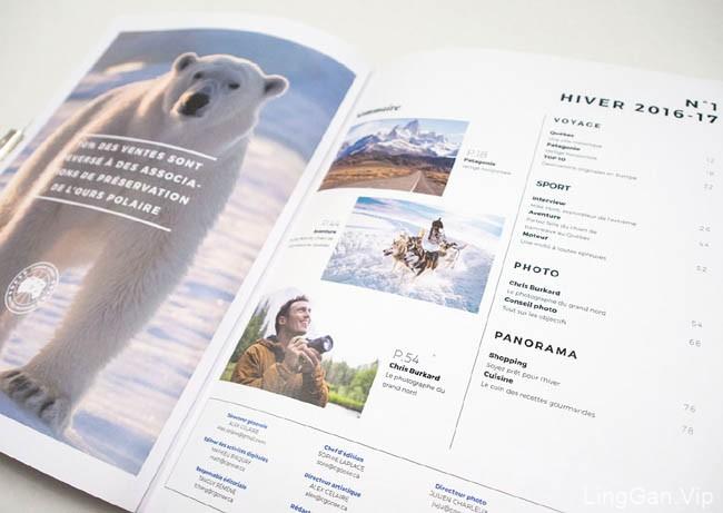 国外画册设计之Arctic Program杂志版面设计