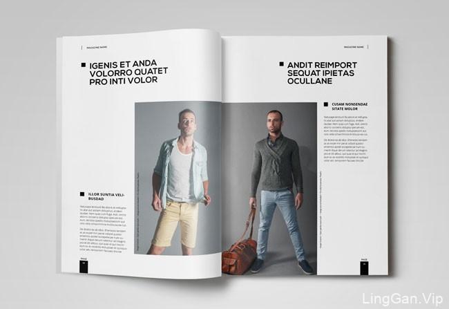 国外di campur杂志模版设计作品(二)