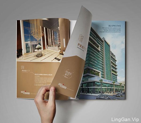 国外Profit商务中心宣传画册设计