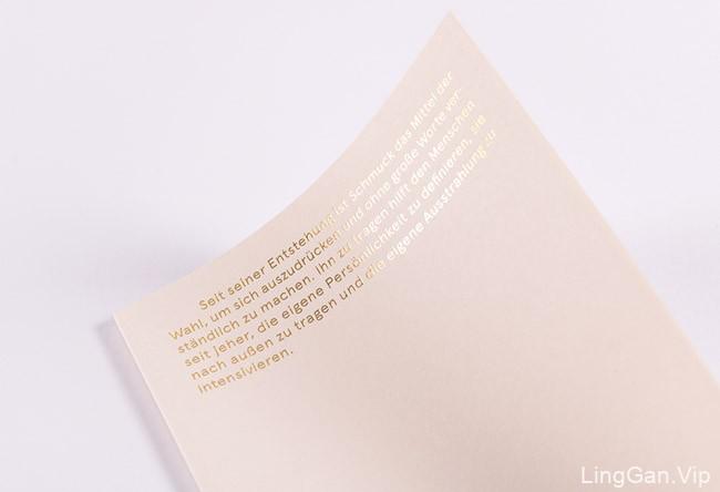 国外GalerieVoigt首饰目录画册设计作品