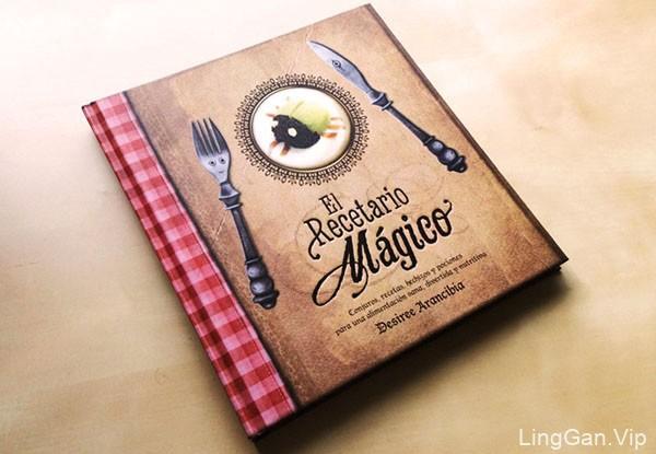 一些国外不错的饮食类书籍封面设计分享