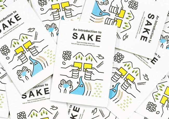 国外SAKE清酒介绍书籍设计作品14P