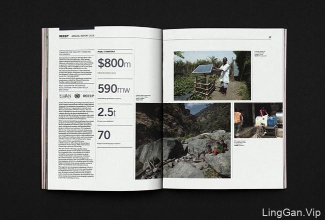 国外REEEP年度报告手册设计
