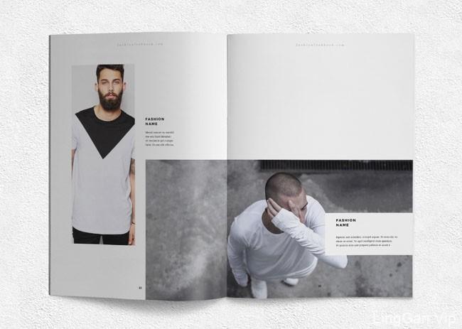 印尼设计师Ahsanjaya Corp时尚男士服饰画册设计