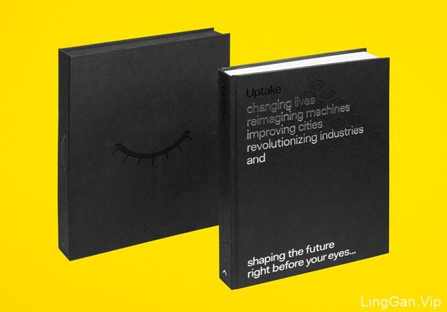 国外精致的Uptake书籍设计作品