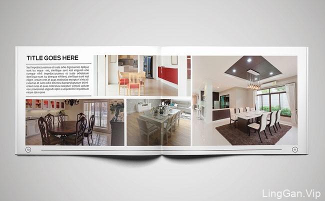 推荐一本国外适合室内设计公司的画册模版