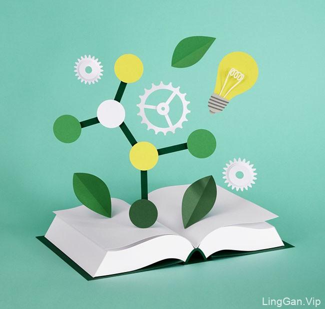 国外Katrin Rodegast书籍手工创意设计作品