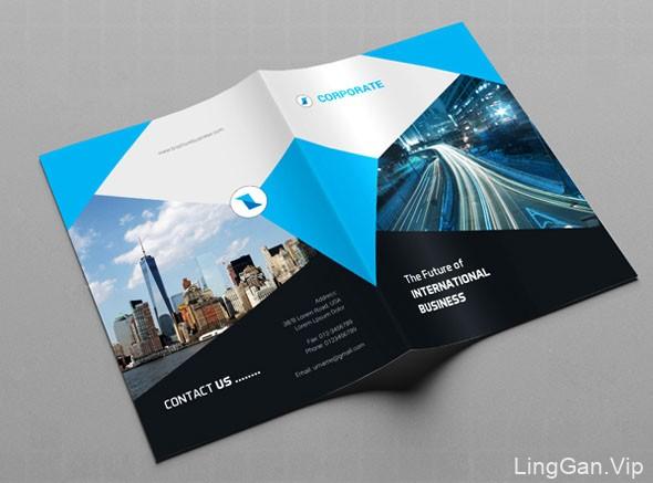 国外设计师Creative House商务画册模版设计作品