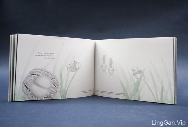 国外Mondial珍珠品牌画册设计欣赏