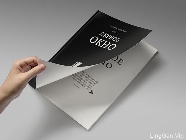 俄罗斯设计师Lesy Zavyalova诗歌书籍设计模版作品