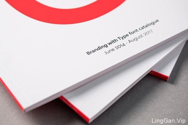 西班牙设计师Alberto Romanos字体目录画册设计