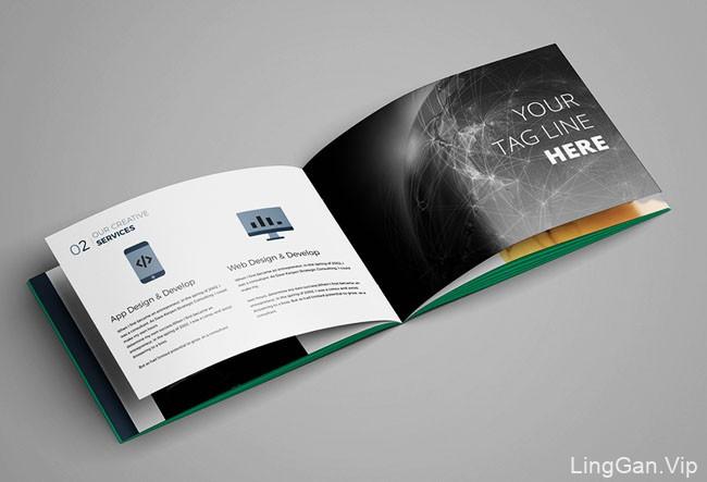国外设计师HasanToufiq摄影画册模版设计分享