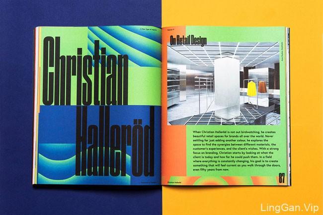 Welcome to Sweden创新文化与设计类杂志版面