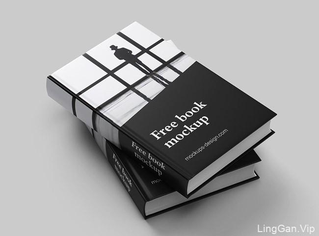 波兰设计师Mockups Design书籍设计模版作品