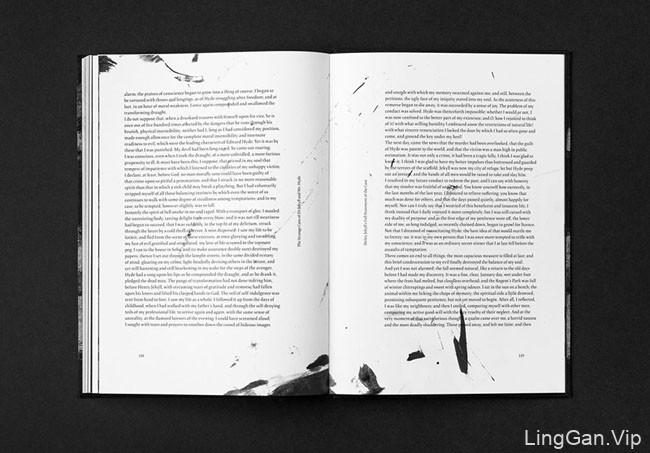 瑞士设计师Bilal Sebei暗黑风光小说书籍设计作品