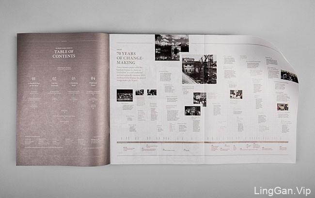 国外Salzburg Global年度报告手册设计