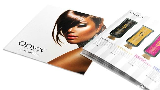 国外ONYX护肤品时尚画册设计