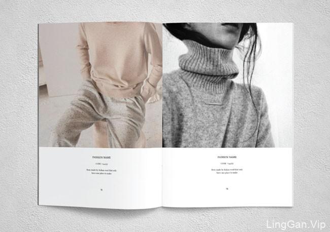 Ahsanjaya Corp时尚画册模版设计作品NO.2