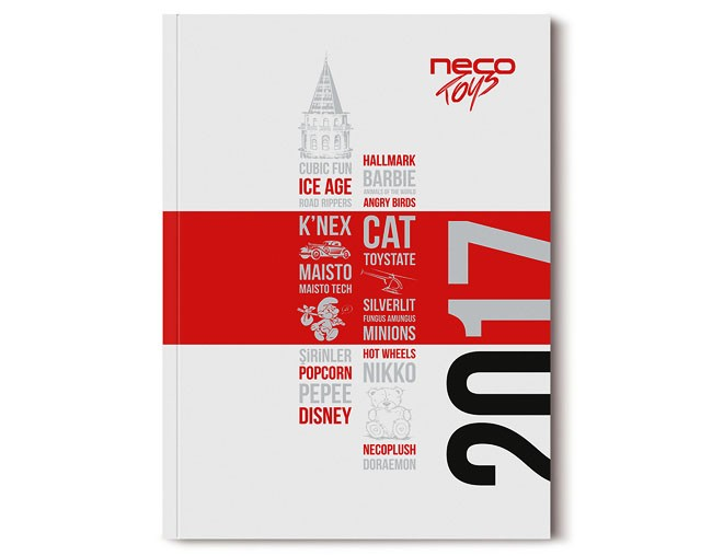 国外NECO玩具品牌目录画册设计作品
