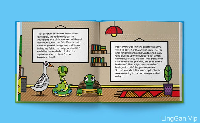 Mike Karolos设计的儿童书籍设计作品