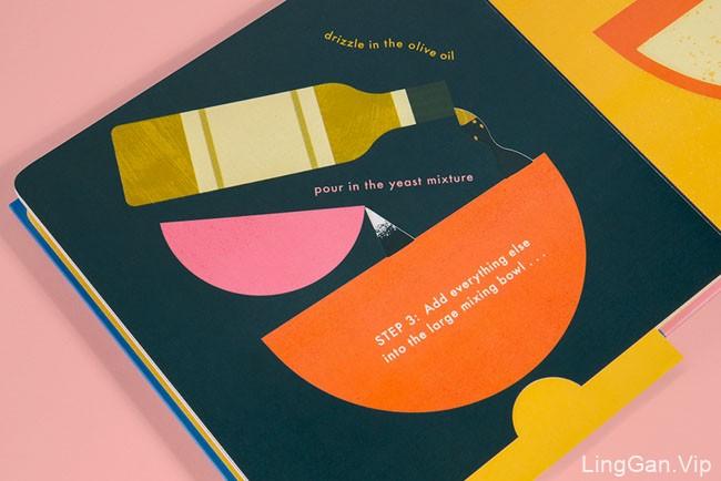 Cook In A Book系列幼儿烹饪学习创意书籍设计