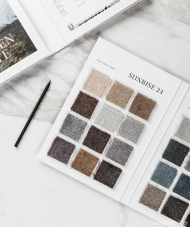 Carus地毯品牌目录画册设计作品