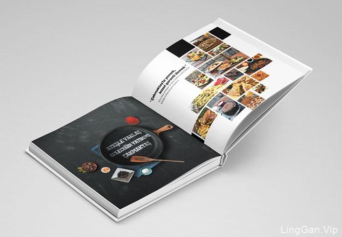 Merih Sejkic饮食类目录画册设计作品