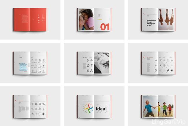 国外精美的IDEAL品牌画册设计作品