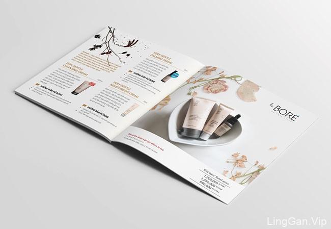 越南LA BORE化妆品目录画册设计作品