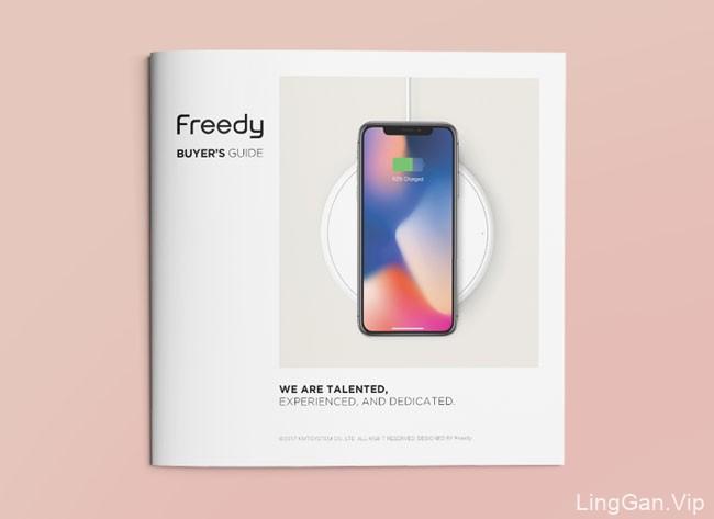 国外Freedy购物指南手册设计作品