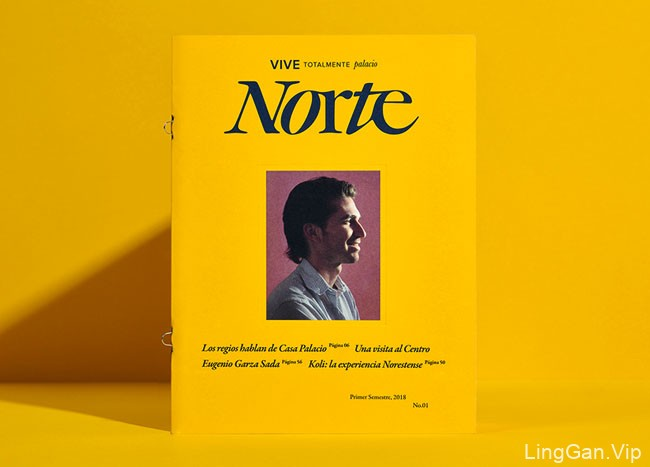 Norte室内装饰商店宣传手册设计