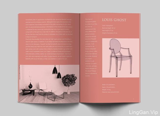 俄罗斯Anna Gusarenko椅子设计品牌目录画册